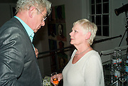 SIR IAN MCKELLEN AND DAME JUDY DENCH, These Foolish Things, charity evening hosted by Sir Richard and Lady Rogers. Chelsea. London. 7 May 2008.  *** Local Caption *** -DO NOT ARCHIVE-© Copyright Photograph by Dafydd Jones. 248 Clapham Rd. London SW9 0PZ. Tel 0207 820 0771. www.dafjones.com.