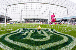 Dundee's keeper Scott Bain after Ross County's Liam Boyce scored their first goal. Dundee 1 v 1 Ross County, SPFL Ladbrokes Premiership played 13/5/2017 at Dens Park.