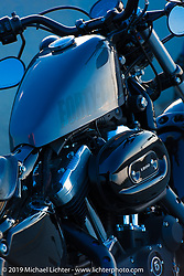 Harley-Davidson 48 Sportster on the ride from Camp Lejeune Marine base in NC to Suck, Bang, Blow in Murrells Inlet in SC on the way to the Smokeout 2015. USA. June 17, 2015.  Photography ©2015 Michael Lichter.