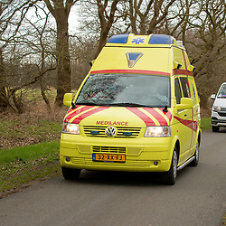 12-03-2021: Wielrennen: Healthy Ageing Tour: Wijster<br />Ambulance and Broomwagon