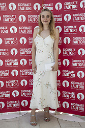 Dakota Fanning attend 'MIU MIU Women's Tales' photocall during the 75th Venice Film Festival at Sala Casino on September 2, 2018 in Venice, Italy. Photo by Marco Piovanotto/Abacapress.com