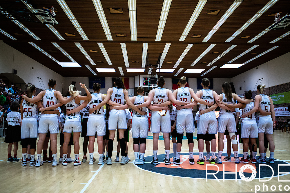 Belgian Cats friendly Game <br /> Four Nations Tournament Brussels <br /> Road to Eurobasket Women 2019<br /> Belgium vs. China : 64-57