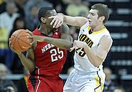 NCAA Men's Basketball - Nebraska at Iowa - January 26, 2012