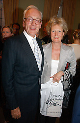 LORD & LADY CHADLINGTON at a party to celebrate the publication of 'A Much Married Man' by Nicholas Coleridge held at the ESU, Dartmouth House,  37 Charles Street, London W1 on 4th May 2006.<br />