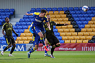 GOAL 2-1, AFC Wimbledon defender Ben Heneghan (22), during the EFL Sky Bet League 1 match between AFC Wimbledon and Bristol Rovers at Plough Lane, London, United Kingdom on 5 December 2020.