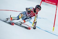 Kristina Riis-Johannessen (NOR) during the Ladies' Giant Slalom at 57th Golden Fox event at Audi FIS Ski World Cup 2020/21, on January 16, 2021 in Podkoren, Kranjska Gora, Slovenia. Photo by Vid Ponikvar
