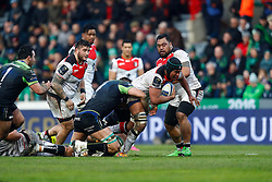 RUGBY - CHAMPIONS CUP - 2017<br /> roux (quinn)<br /> dusautoir (thierry)
