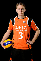 25-04-2013 VOLLEYBAL: NEDERLANDS MANNEN VOLLEYBALTEAM: ROTTERDAM<br /> Selectie Oranje mannen seizoen 2013-2014 / Daan van Haarlem<br /> ©2013-FotoHoogendoorn.nl