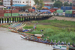 Dugout Canoes at Cambodia's Water Festival