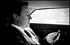 The Prime Minister on his Mobile Phone