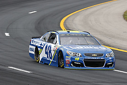 July 14, 2017 - Loudon, NH, United States of America - July 14, 2017 - Loudon, NH, USA: Jimmie Johnson (48) hangs out in the garage during practice for the Overton's 301 at New Hampshire Motor Speedway in Loudon, NH. (Credit Image: © Justin R. Noe Asp Inc/ASP via ZUMA Wire)
