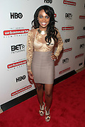 September 20, 2012- New York, New York: Actress Tationna Bosier attends the 2012 Urbanworld Film Festival Opening night premiere screening of  ' Being Mary Jane ' presented by BET Networks held at AMC 34th Street on September 20, 2012 in New York City. The Urbanworld® Film Festival is the largest internationally competitive festival of its kind. The five-day festival includes narrative features, documentaries, and short films, as well as panel discussions, live staged screenplay readings, and the Urbanworld® Digital track focused on digital and social media. (Terrence Jennings)