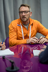 05-03-2017  SRB: European Athletics Championships indoor day 3, Belgrade<br /> Technisch directeur Ad Roskam