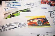 August 15, 2019:  Monterey Car Week, Lamborghini designs