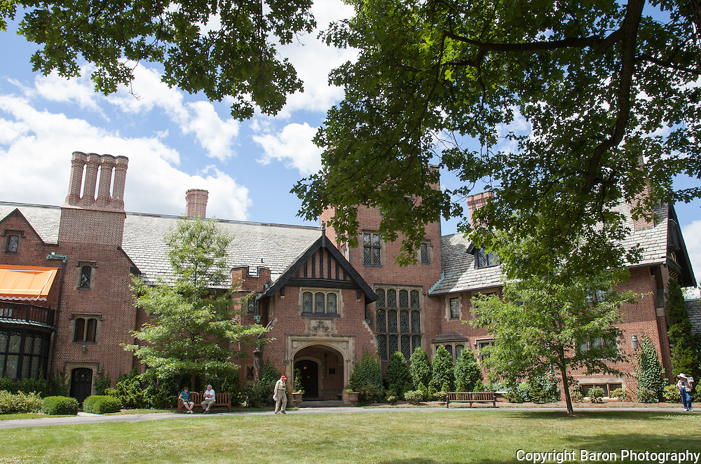 Stan Hywet Hall and Gardens in Akron, Ohio