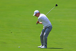 August 26, 2018 - Paramus, NJ, U.S. - PARAMUS, NJ - AUGUST 26:   Emiliano Grillo of Argentina plays from the 17th fairway during the final round of The Northern Trust on August 26, 2018 at the Ridgewood Championship Course in Ridgewood, New Jersey. (Photo by Rich Graessle/Icon Sportswire) (Credit Image: © Rich Graessle/Icon SMI via ZUMA Press)