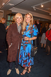 Left to right, Sally Greene and Georgina Cohen at the third annual Fortnum's x Frank exhibition at Fortnum & Mason, 181 Piccadilly, London, UK on September 12, 2018.<br /> 12 September 2018.