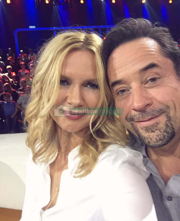 """Veronica Ferres releases a photo on Instagram with the following caption: """"Ich dr\u00fccke alle Daumen \u270a\ud83c\udffc f\u00fcr den genialen @janjosefliefers als B\u00e4ndiger des Pubertiers (\ud83d\udc79) #greatjob #pubertier #mustwatch #teenager #funny"""". Photo Credit: Instagram *** No USA Distribution *** For Editorial Use Only *** Not to be Published in Books or Photo Books ***  Please note: Fees charged by the agency are for the agency's services only, and do not, nor are they intended to, convey to the user any ownership of Copyright or License in the material. The agency does not claim any ownership including but not limited to Copyright or License in the attached material. By publishing this material you expressly agree to indemnify and to hold the agency and its directors, shareholders and employees harmless from any loss, claims, damages, demands, expenses (including legal fees), or any causes of action or allegation against the agency arising out of or connected in any way with publication of the material."""