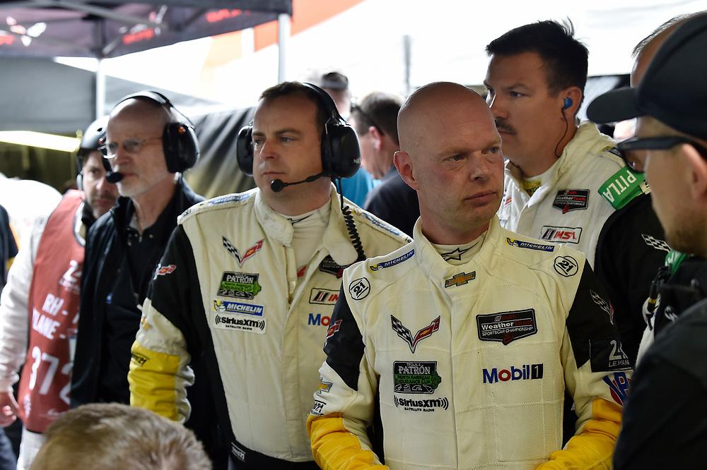 #63 Corvette Racing Chevrolet Corvette C7.R: Jan Magnussen<br /> Saturday 16 June 2018<br /> 24 Hours of Le Mans<br /> 2018 24 Hours of Le Mans<br /> Circuit de la Sarthe WI FR<br /> World Copyright: Scott R LePage