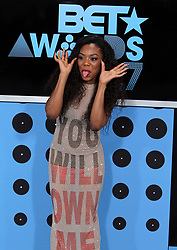 June 25, 2017 - Los Angeles, California, U.S - LADY LESHURR attends the BET Awards 2017 at the Microsoft Theater. (Credit Image: © Chris Farina via ZUMA Wire)