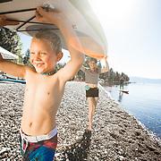 Rental Lifestyle images for Waterman's Landing.<br /> <br /> Photos by Trevor Clark / Clarkbourne Creative