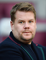 Football - 2018 / 2019 Premier League - West Ham United vs. Watford <br /> <br /> Actor and West Ham fan James Corden, at The London Stadium.<br /> <br /> COLORSPORT/ASHLEY WESTERN