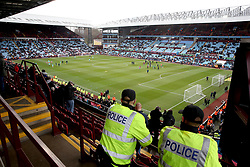 A general view of the grounds during the Premier League match at Villa Park, Birmingham.