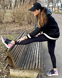 """Ana Ivanovic releases a photo on Instagram with the following caption: """"Keep moving forward. Never stop improving. \ud83d\udc97\ud83d\udc99 #ultraboost @adidasrunning #createdwithadidas"""". Photo Credit: Instagram *** No USA Distribution *** For Editorial Use Only *** Not to be Published in Books or Photo Books ***  Please note: Fees charged by the agency are for the agency's services only, and do not, nor are they intended to, convey to the user any ownership of Copyright or License in the material. The agency does not claim any ownership including but not limited to Copyright or License in the attached material. By publishing this material you expressly agree to indemnify and to hold the agency and its directors, shareholders and employees harmless from any loss, claims, damages, demands, expenses (including legal fees), or any causes of action or allegation against the agency arising out of or connected in any way with publication of the material."""