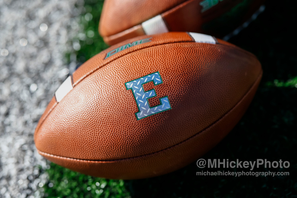 LEXINGTON, KY - SEPTEMBER 30: An Eastern Michigan Eagles football is seen before the game against the Kentucky Wildcats at Commonwealth Stadium on September 30, 2017 in Lexington, Kentucky. (Photo by Michael Hickey/Getty Images)
