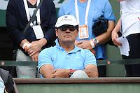 Toni NADAL coach de Rafael NADAL - 26.05.2015 - Jour 3 - Roland Garros 2015<br />Photo : Nolwenn Le Gouic / Icon Sport