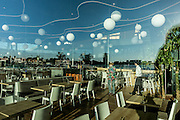 Amsterdam, Bimhuis jazz club, the cafeteria