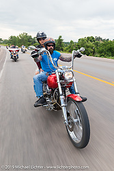 Annual Michael Lichter - Sugar Bear Ride hosted by Jay Allen from the Easyriders Saloon during the Sturgis Black Hills Motorcycle Rally. SD, USA. Sunday, August 3, 2014.  Photography ©2014 Michael Lichter.