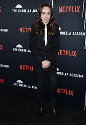 Netflix's 'The Umbrella Academy' Premiere. 12 Feb 2019 Pictured: Ellen Page. Photo credit: MEGA TheMegaAgency.com +1 888 505 6342