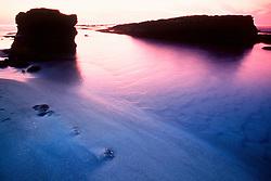 La Jolla shore at sunset, San Diego, California, East Pacific Ocean
