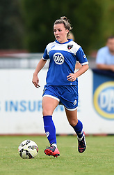 Georgia Evans of Bristol Academy Women - Mandatory by-line: Paul Knight/JMP - Mobile: 07966 386802 - 29/08/2015 -  FOOTBALL - Stoke Gifford Stadium - Bristol, England -  Bristol Academy Women v Birmingham City Ladies FC - FA WSL Continental Tyres Cup