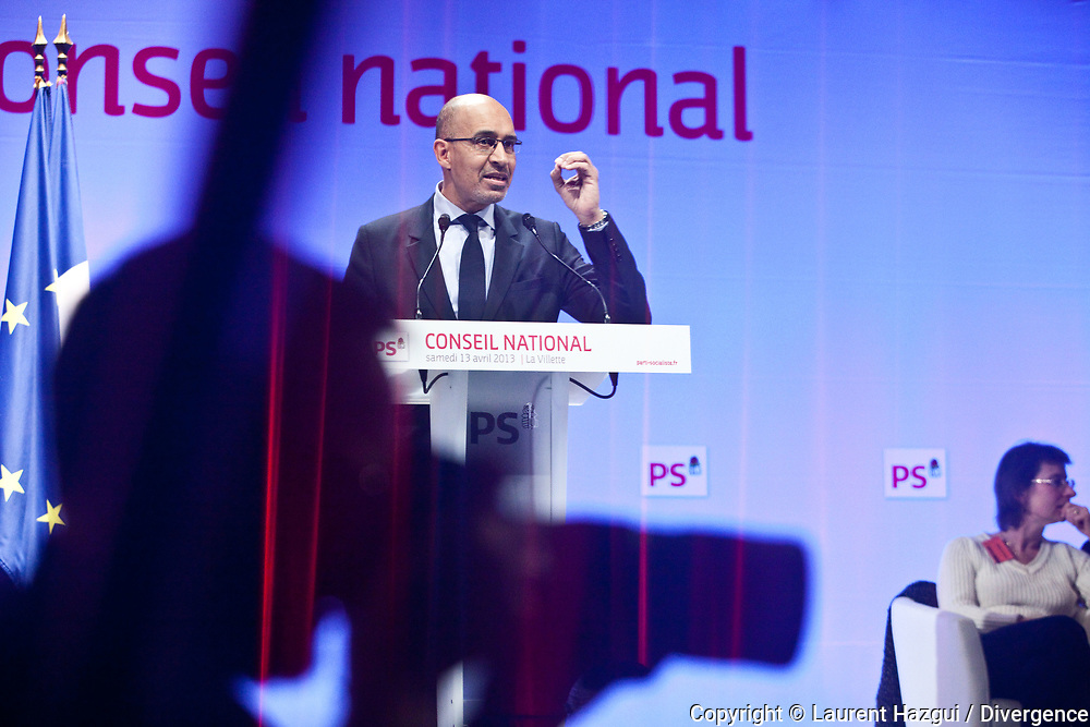 13042013. Paris 19ème. Centre des Congrès de la Villette. Conseil national du Parti Socialiste. DESIR Harlem.