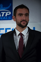 November 9, 2017 - London, England, United Kingdom - Marin Cilic of Croatia at The Official Launch for ATP Finals, held at the Tower of London prior to the start of ATP World Tour Finals Tennis at O2 Arena, London on November 9, 2017. (Credit Image: © Alberto Pezzali/NurPhoto via ZUMA Press)