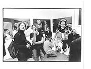 Sally Tallant (right),Liza Panting (left). The Party, work by Jordan Baseman, Richard Salmon 13th November 1997© Copyright Photograph by Dafydd Jones 66 Stockwell Park Rd. London SW9 0DA Tel 020 7733 0108 www.dafjones.com