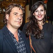 NLD/Amsterdam/20151019 - Premiere Fatal Attraction, Tina de Bruin en Vincent Croiset