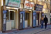 Ulica Szeroka na Krakowskim Kazimierzu.<br /> Szeroka Street in Krakow's Kazimierz district.