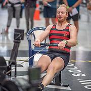 Darryn Van der Sandt MALE HEAVYWEIGHT OPEN 2K Race #6  09:45am<br /> <br /> <br /> www.rowingcelebration.com Competing on Concept 2 ergometers at the 2018 NZ Indoor Rowing Championships. Avanti Drome, Cambridge,  Saturday 24 November 2018 © Copyright photo Steve McArthur / @RowingCelebration