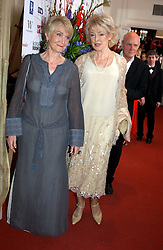 Left to right, Actress SHEILA HANCOCK and DIANA MORAN at the 2005 British Book Awards held at The Grosvenor House Hotel, Park lane, London on 20th April 2005.<br /><br />NON EXCLUSIVE - WORLD RIGHTS