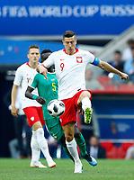 Robert Lewandowski (Poland)<br /> Moscow 19-06-2018 Football FIFA World Cup Russia  2018 <br /> Poland - Senegal / Polonia - Senegal <br /> Foto Matteo Ciambelli/Insidefoto