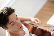 Artist Vance Kupiec of independent music group VanceJeffrey.