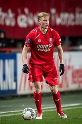 Hans Fredrik Jensen of FC Twente during the Dutch Eredivisie match between FC Twente Enschede and Willem II Tilburg at the Grolsch Veste on March 17, 2018 in Enschede, The Netherlands