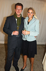 MR BILL HURST and MISS NATALIE HICKS-LOBBECKE at a party hosted by Bentley motorcars held at The Orangery, Kensington Palace, London on 3rd November 2004.<br /><br />NON EXCLUSIVE - WORLD RIGHTS