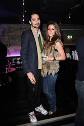 HUGO TAYLOR and STEPHANIE SMART at the launch party for the new nightclub Public at 533 Kings Road, London on 2nd December 2010.