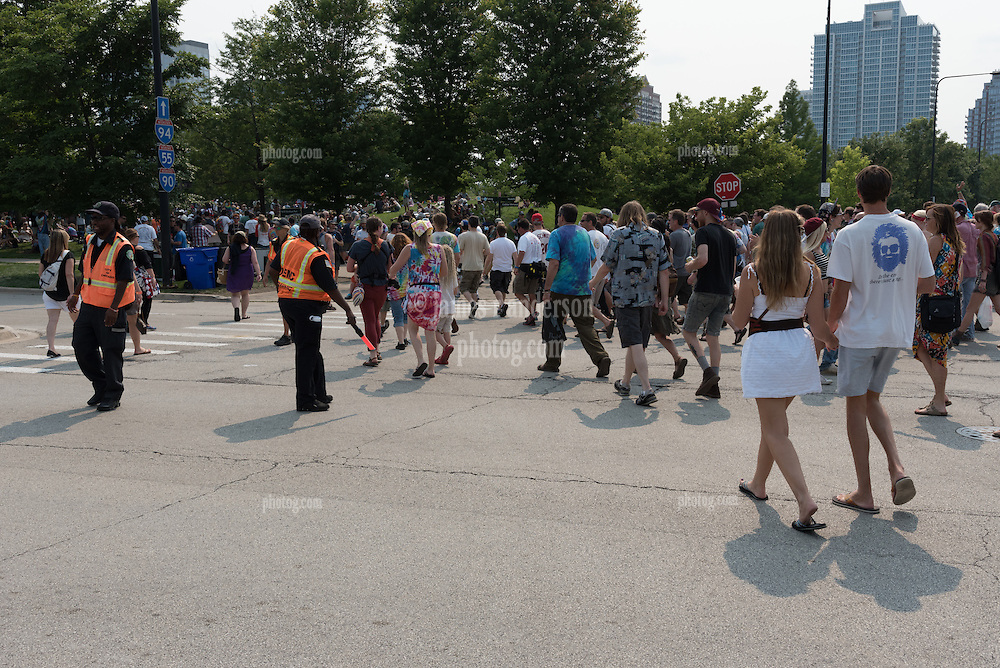 Fans, Deadheads. somewhere at the Grateful Dead Concert at Chicago's Soldier Field. 5 July 2015. Fare Thee Well, etc.