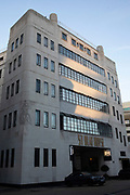 St Olaf House, the first Art Deco building in the UK on 12th January 2020 in London, England, United Kingdom. St Olaf House houses London Bridge Hospitals Consulting rooms and Cardiology Department, and was built as the Headquarters for Hays Wharf in 1931.