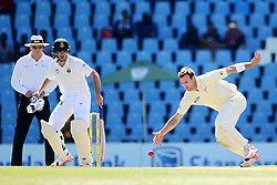 Doug Bracewell during day one of the second test match between South Africa and New Zealand held at SuperSport Park, Centurion in Gauteng, South Africa on the 27th August 2016<br /> <br /> Photo by:   Denver de Wee / Real Time Images